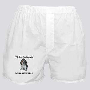 Personalized Beagle Custom Boxer Shorts